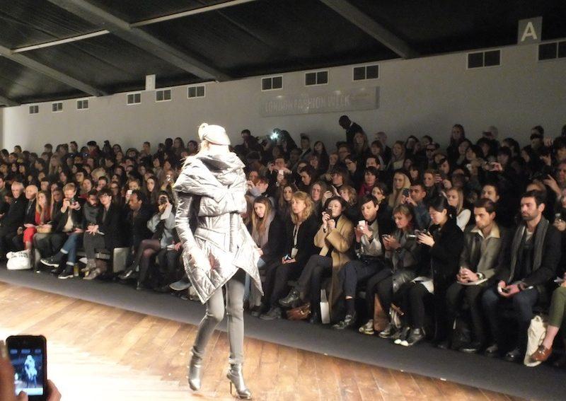 Haizhen Wang Fashion Show in London