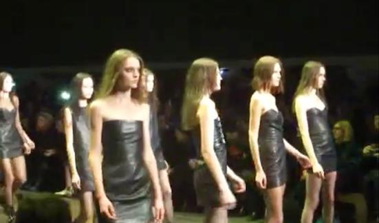 SAINT LAURENT Fall Winter 2013-2014 Fashion Show