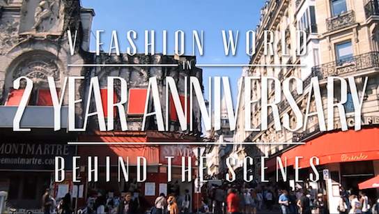 V FASHION WORLD 2 Year Anniversary – The Behind the scenes
