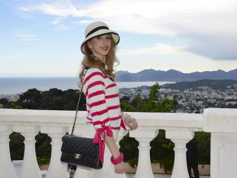 Glamour Sailor Style in Cannes Film Festival
