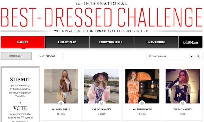 Best Dressed Challenge