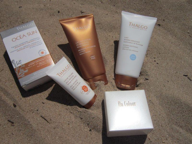 Thalgo Sun Care & Nu Skin Bronzing Pearls