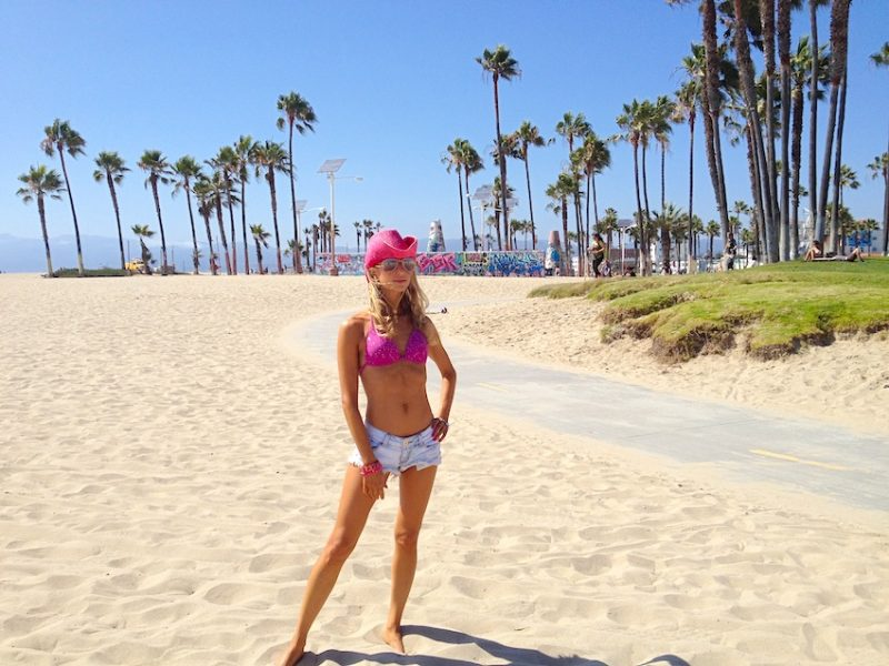 Hollywood Girls in Venice Beach
