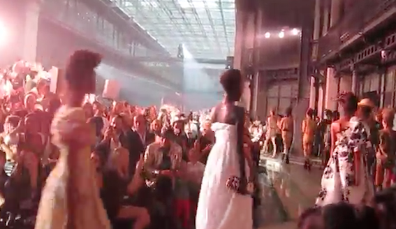 VIVIENNE WESTWOOD Gold Label Spring Summer 2014 Fashion Show