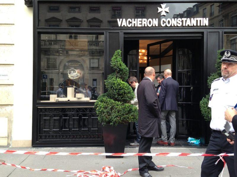 Cambriolage chez Vacheron Constantin à Paris