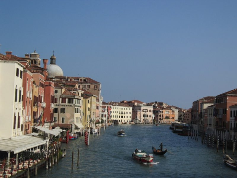 In Venice with Grandma