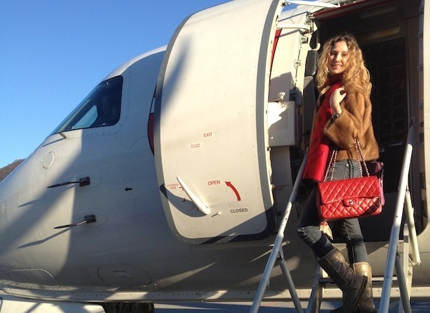 Winter Casual Chic Travel Look