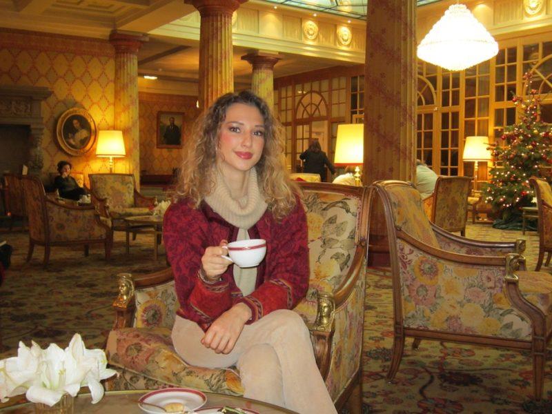 Winter Tea Time Look