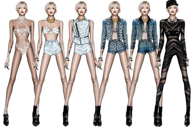 Cavalli (s) veste Miley Cyrus