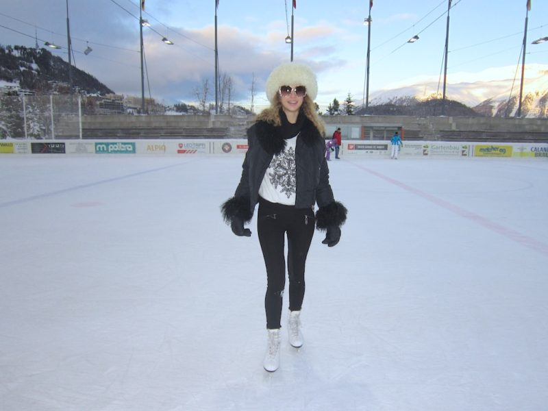 Ice Skating Look