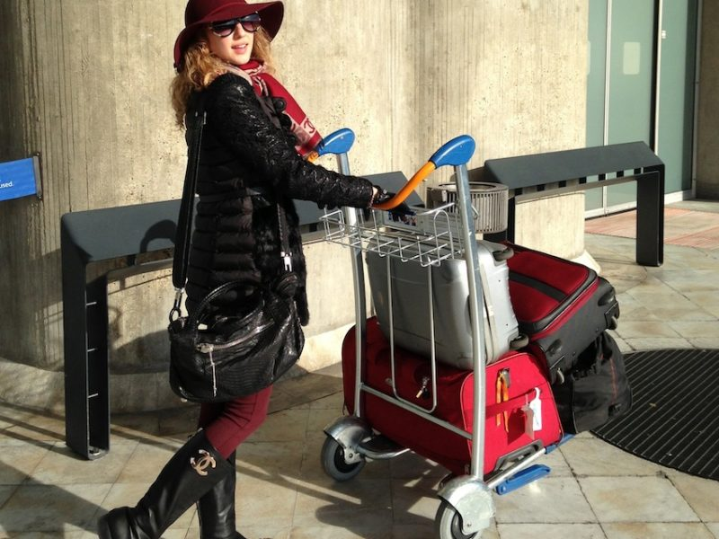 TRAVEL LOOK – READY FOR FASHION MONTH