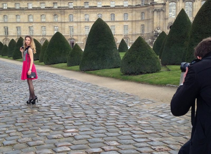 PHOTO-SHOOTING IN PARIS