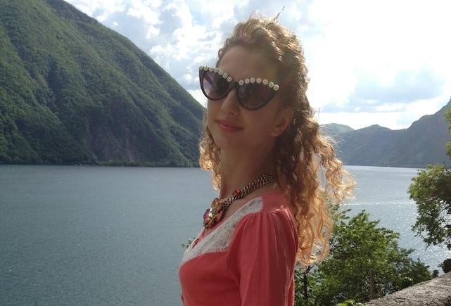 1 May by Lugano Lake