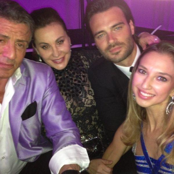 Saylorette Cruise during Cannes Film Festival