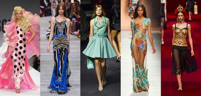Top 5 runway looks della milano fashion week v fashion world for Milano fashion academy
