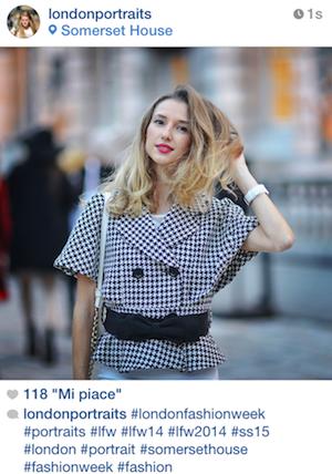 VALENTINA NESSI ON LONDON PORTRAITS – September 2014