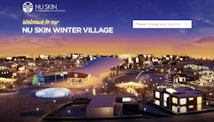 NU SKIN WINTER VILLAGE