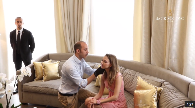 Mon Interview pour de GRISOGONO au Festival de Cannes