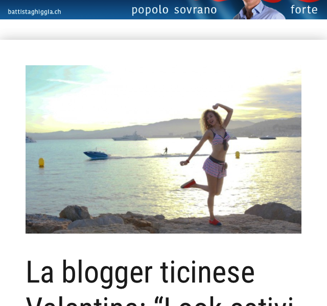 Valentina's Summer Looks in Cannes – Mattinonline.ch