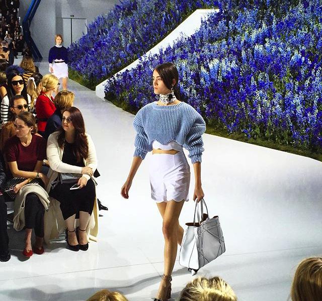 DIOR primavera-estate 2016 Fashion Show