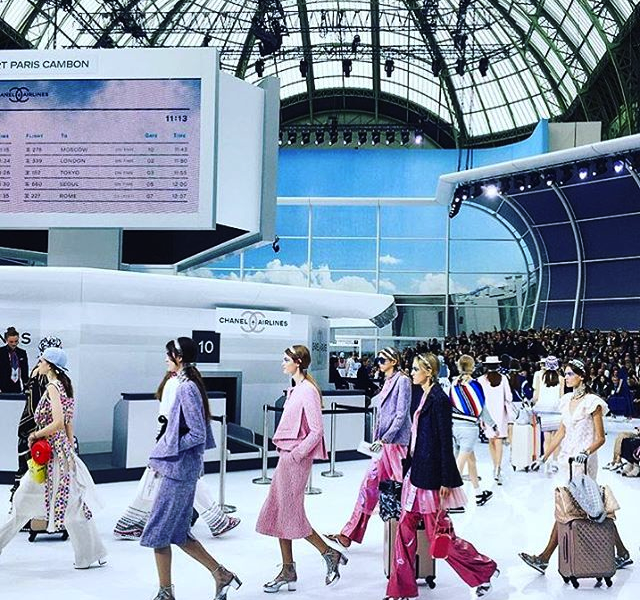 CHANEL Airline Spring Summer 2016 Collection