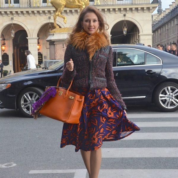 STREET CHIC de la Fashion Week de Paris – Jour 2
