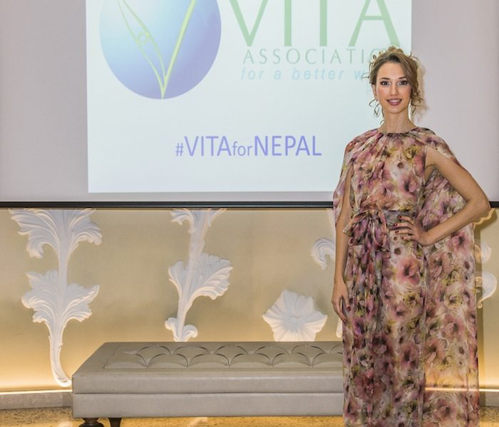 VITA for NEPAL Charity Event in Milano