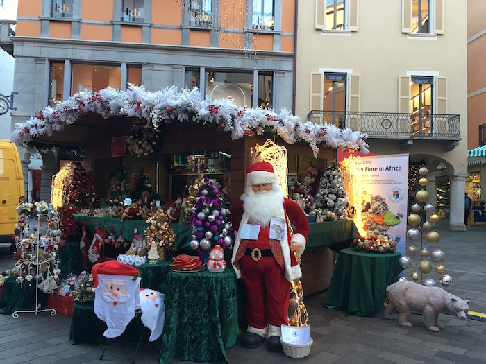 Christmas Market in Lugano