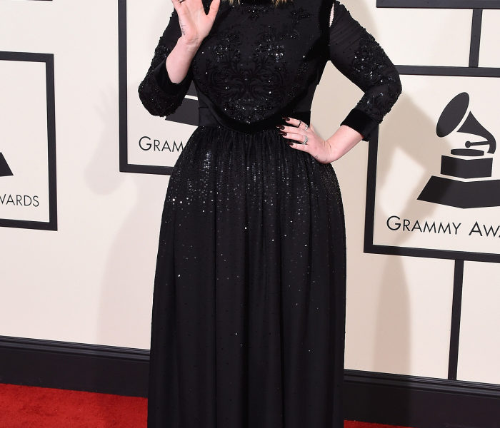 Adele in Givenchy Best Dressed at the Grammys 2016