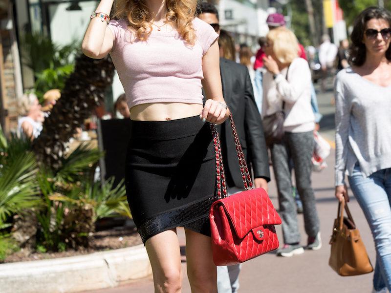 Street Style Casual Chic al Festival del Cinema di Cannes