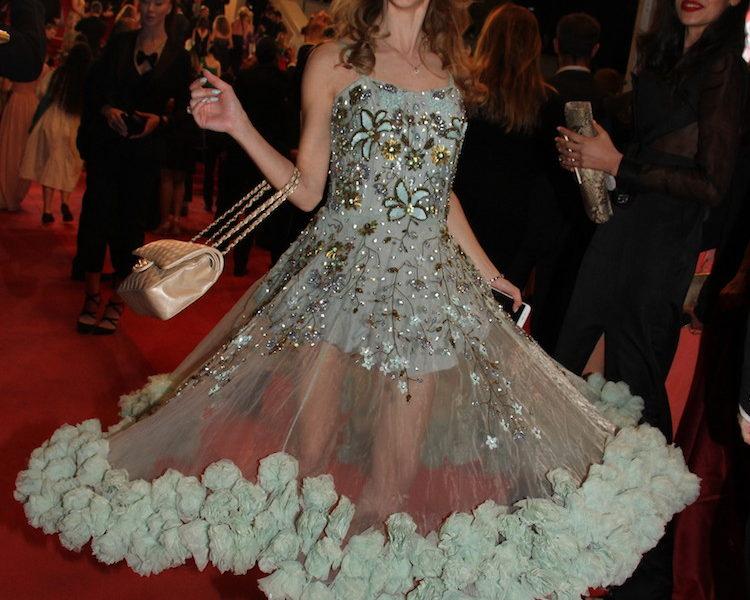 Valentina Nessi sul red carpet del 69th Cannes Film Festival