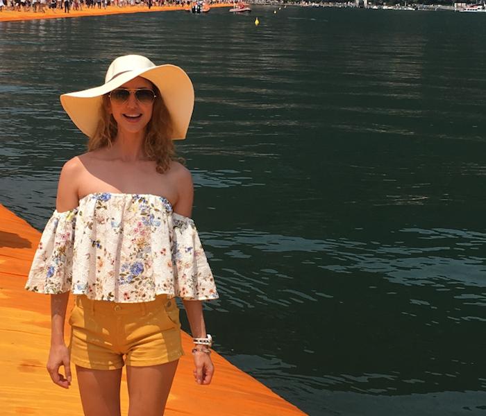 Promenade sur le Quai Flottants de Christo