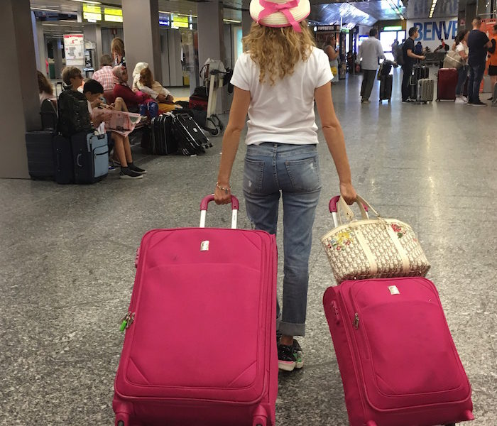 Pink Trotter Back to Paris