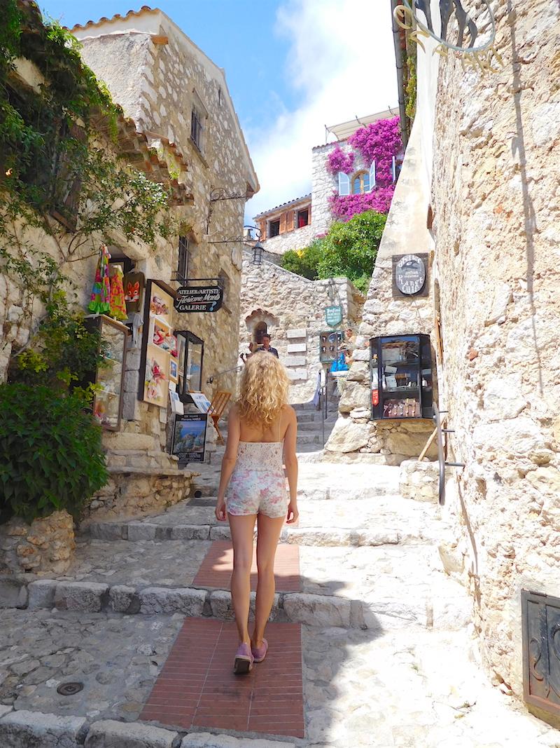 a summer day in eze village v fashion world