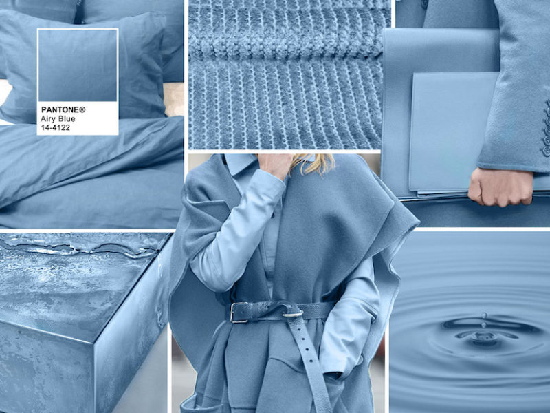 AIRY BLUE TREND COLOR
