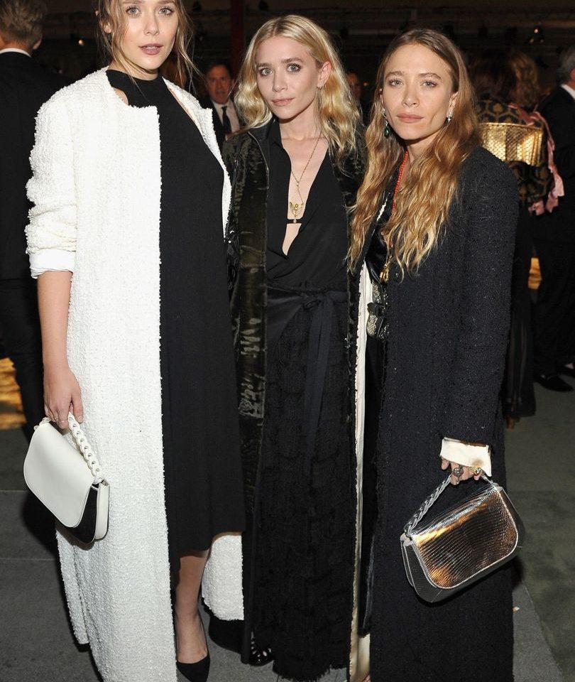 Elizabeth, Ashley and Mary Kate Olsen