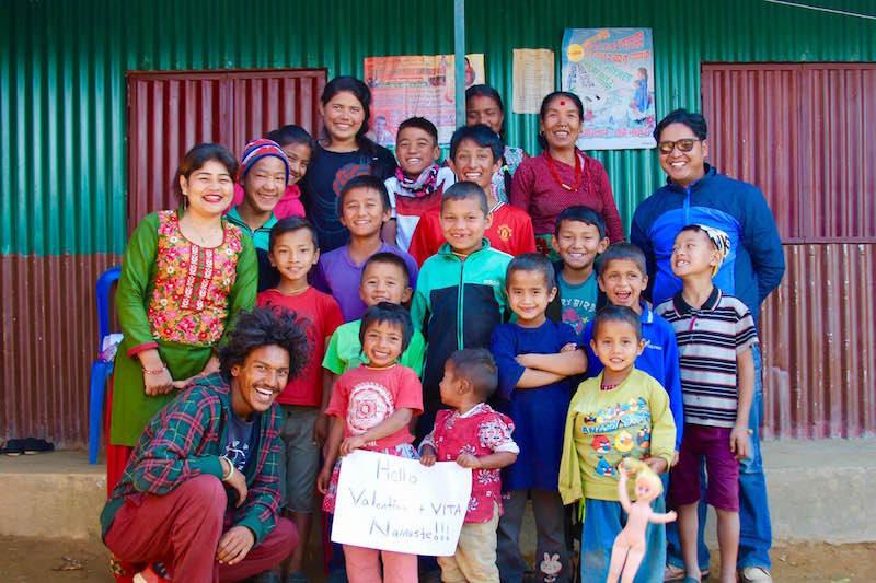 VITA for NEPAL PROJET DE CHARITE' 2017