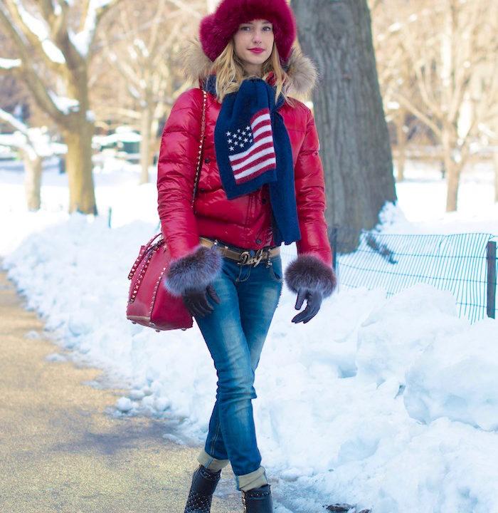 Valentina Nessi 39 S Nyc Winter Street Style V Fashion World