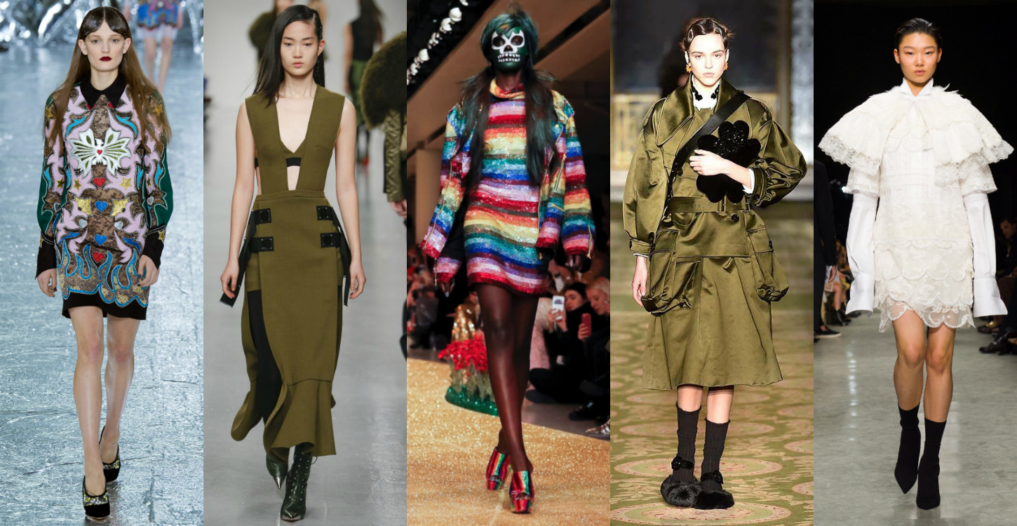 All trends from london fashion week fall winter 2017 2018 for Garden design winter 2018