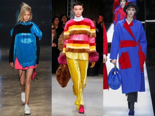 FASHION TRENDS – BRIGHT COLORS