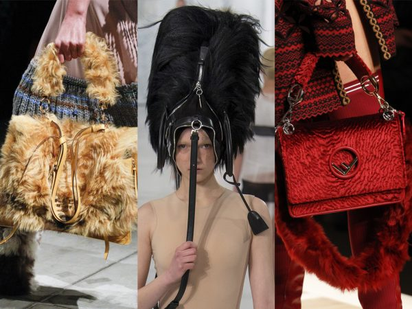 FASHION TRENDS – FURRY BAGS