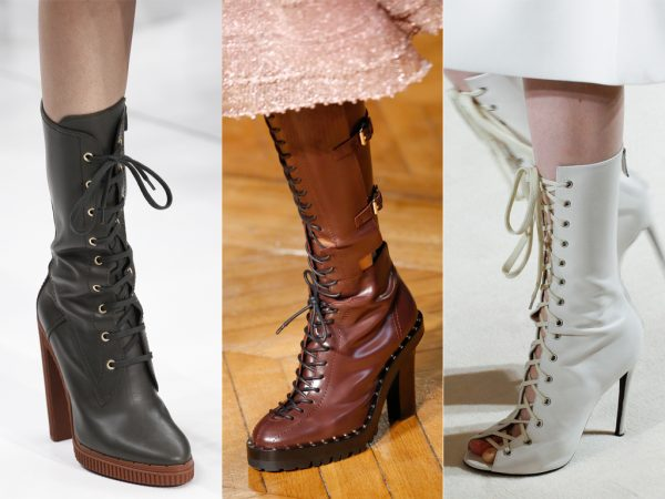 FASHION TRENDS – LACED BOOTS