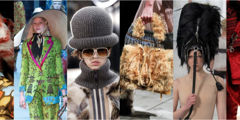 FALL WINTER 2017 / 2018 FASHION TRENDS
