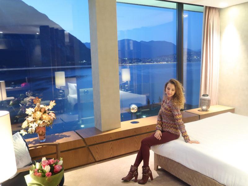 Weekend dans la suite femme fatale du Melia hotel à Campione
