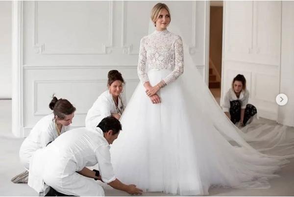 The Ferragnez: Chiara and Fedez social wedding