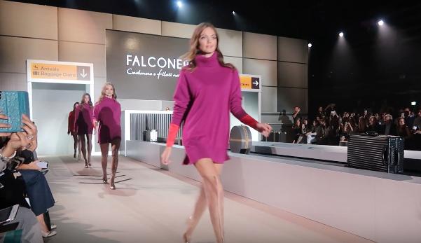 FALCONERI FASHION SHOW AUTUNNO INVERNO 2018/2019