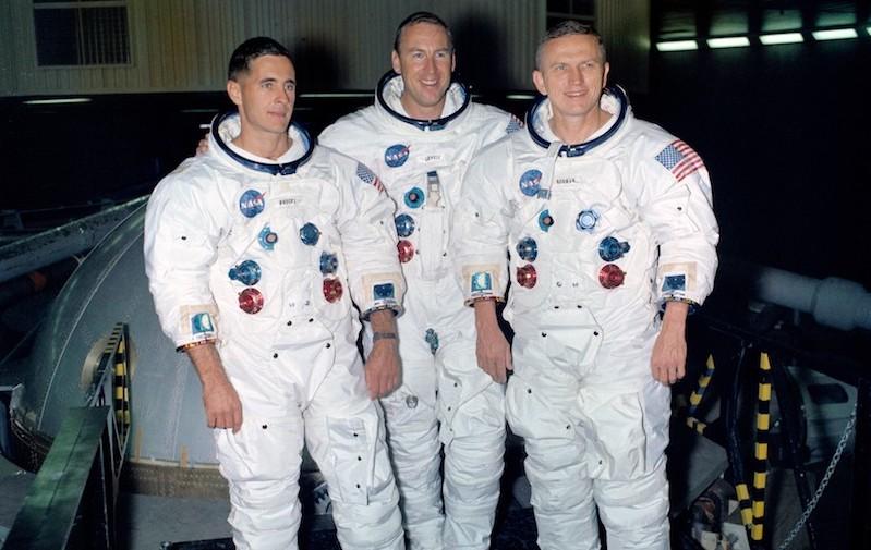 Cinqantième anniversaire de Apollo 8 sur la lune