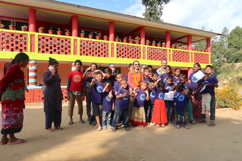 Visit to the Orphanage in Nepal