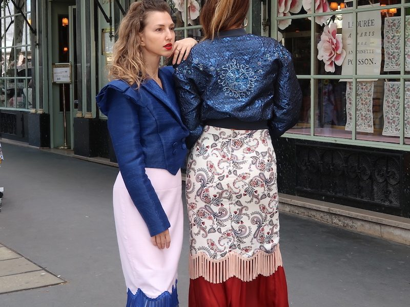 ALLINA LIU INFLUENCER EDITORIAL A' PARIS