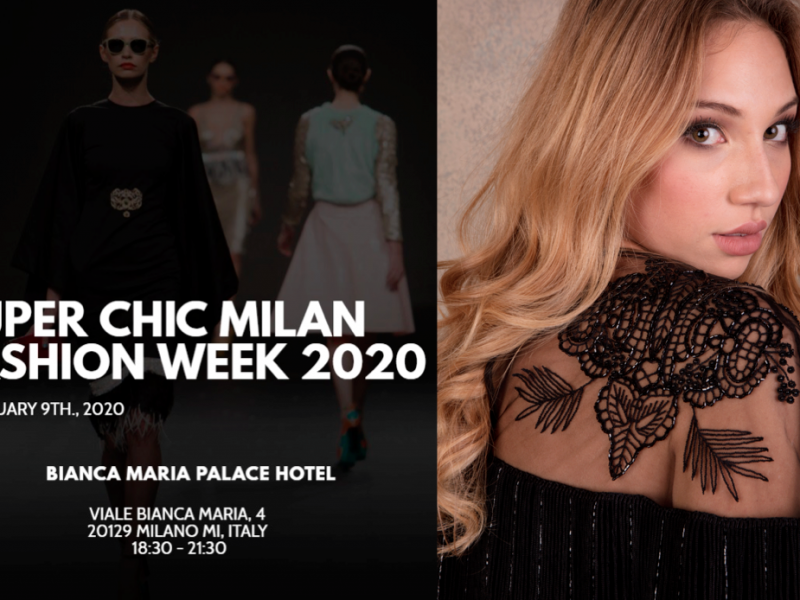 Super Chic Milano Fashion Week & Women Talent System presentano Valentina Nessi
